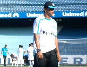 Alexandre Mendes treino Grêmio (Foto: Eduardo Cecconi / Globoesporte.com)