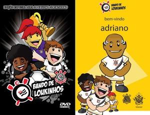 Bando de Loukinhos apresenta Adriano corinthians (Foto: Divulgação)