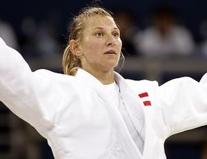 Claudia Heill judoca judô (Foto: AFP)