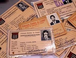 Centenário Guarani carteirinhas (Foto: Marcos Ribolli / Globoesporte.com)