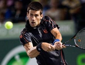 tênis Djokovic Masters 1.000 de Miami. (Foto: agência Reuters)