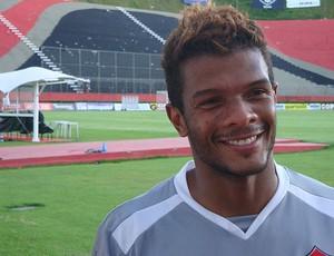 Viáfara, goleiro do Vitória (Foto: Eric Luís Carvalho / GloboEsporte.com)