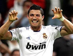 Cristiano Ronaldo comemora gol do Real Madrid (Foto: AP)