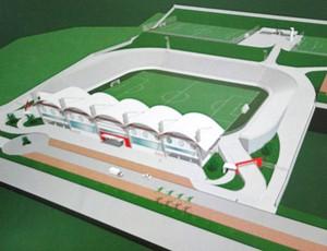 Maquete Estádio Nacional-MG (Foto: NAC / divulgação)