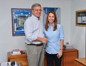 Marcelo Campos Pinto e Patrícia Amorim (Foto: Divulgação / site oficial)