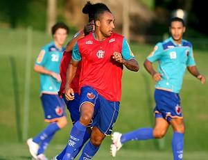Deivid no treino do Flamengo (Foto: Wander Roberto / VIPCOMM)
