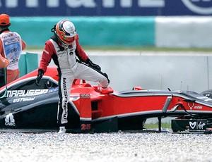 Jerome d'Ambrosio Fórmula 1 F1 GP da Malásia (Foto: Reuters)