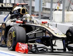 Nick Heidfeld Fórmula 1 F1 GP da Malásia (Foto: AP)
