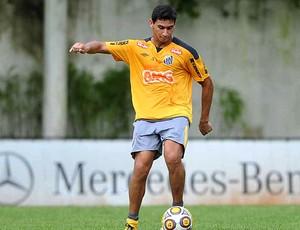 Ganso no treino do Santos (Foto: Ricardo Saibun / Site Oficial do Santos)