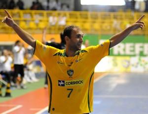 Seleção Brasileira de futsal (Foto: Igor Christ / Globoesporte.com)