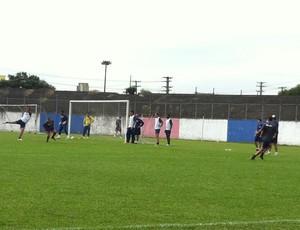 Paraná realiza treino de finalização (Foto: Fernando Freire - Globoesporte.com)