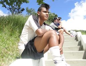 Pedro Henrique, o 'Neymar' do atlético-mg (Foto: Lucas Catta Prêta / Globoesporte.com)