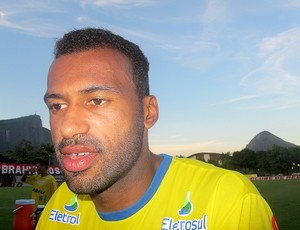 Emerson Nunes Avaí (Foto: Richard Fausto / Globoesporte.com)