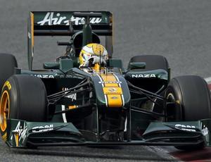 Luiz Razia Lotus treino GP da China (Foto: Divulgação/Lotus)