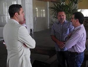 René Simões e Marcelo Guimarães Filho (Foto: Divulgação)