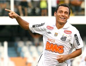 Alan Patrick gol Santos (Foto: Ag. Estado)