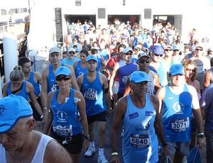 atletas corrida da ponte (Foto: Lucas Loos/Globoesporte.com)