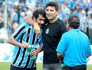 Douglas gol Grêmio (Foto: Ag. Estado)