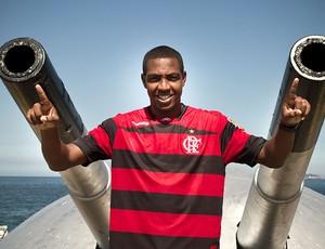 Renato Abreu durante entrevista (Foto: Julia Assis / Globoesporte.com)