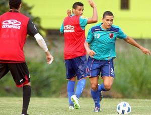 Wanderley treino Flamengo (Foto: Maurício Val / VIPCOMM)