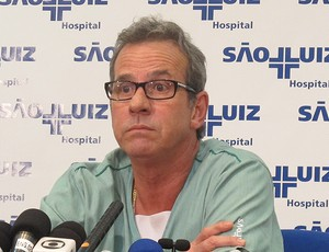 Joaquim Grava  médico   Corinthians (Foto: Carlos Augusto Ferrari/Globoesporte.com)