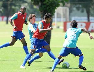 Fernando treino do Flamengo (Foto: Richard de Souza / Globoesporte.com)