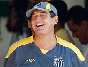 Muricy Ramalho no treino do Santos (Foto: Ricardo Saibun / Ag. Estado)