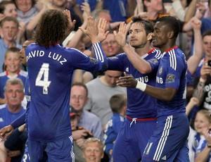 omemoração Lampard do Chelsea (Foto: AP)