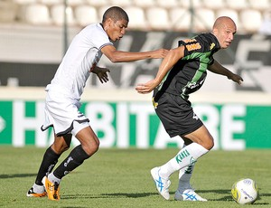 Leonardo Silva Atlético-MG Fabio Junior América-MG (Foto: Ag. Estado)