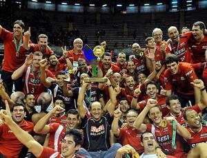Sesi campeão da Superliga (Foto: Ag. Estado)