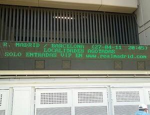 ingressos real madrid barcelona (Foto: Thiago Dias/Globoesporte.com)