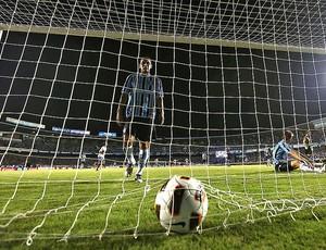partida entre Grêmio e Universidad Católica (Foto: AFP)