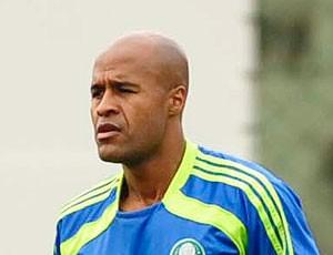 Marcos Assunção treino Palmeiras (Foto: Marcos Ribolli / Globoesporte.com)
