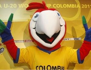 Sorteio Mundial sub-20, Mascote da Colombia (Foto: Divulgação)