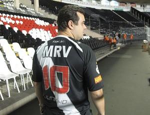Torcedor Juninho Vasco (Foto: Rafael Cavalieri / Globoesporte.com)