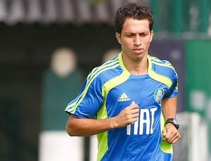 Cicinho treino Palmeiras (Foto: Agência Lance)
