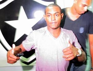 Jobson Botafogo (Foto: Gustavo Rotstein / Globoesporte.com)