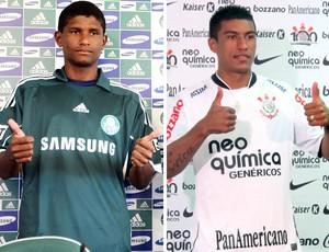 Montagem Márcio Araújo e Paulinho (Foto: Reprodução)