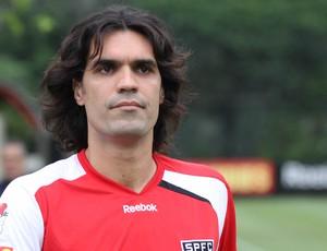 Fernandão no treino do São Paulo (Foto: Luiz Pires/VIPCOMM)