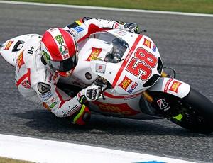 Marco Simoncelli moto gp de estoril (Foto: agência Reuters)