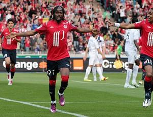 gervinho lille gol Avignon (Foto: agência Reuters)