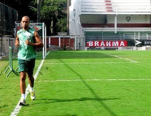 leandro euzebio fluminense treino (Foto: Edgard Maciel de Sá / Globoesporte.com)