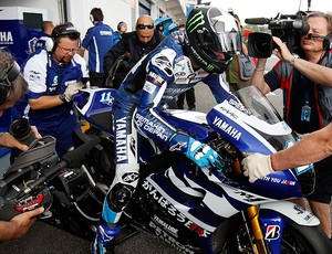 Jorge Lorenzo pole do Moto GP ESTORIL (Foto: agência Reuters)