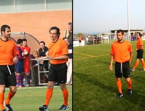 inauguração do campo em homenagem a Pep Guardiola (Foto: Divulgação)