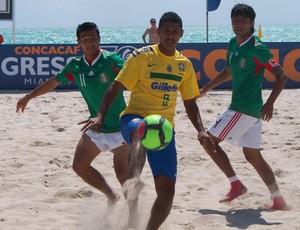 Seleção de Futebol de areia (Foto: CBBS/divulgação.)