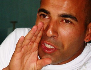 emerson fluminense entrevista (Foto: Eduardo Peixoto/Globoesporte.com)