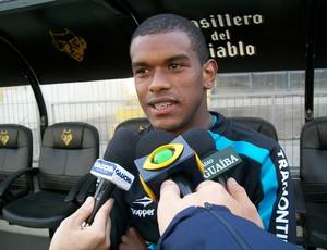 Fernando, volante do Grêmio (Foto: Eduardo Cecconi/Globoesporte.com)