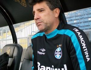 Renato Gaúcho no Chile (Foto: Eduardo Cecconi/Globoesporte.com)