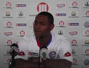 Jobson com a camisa do Bahia (Foto: Divulgação/Site oficial do Bahia)