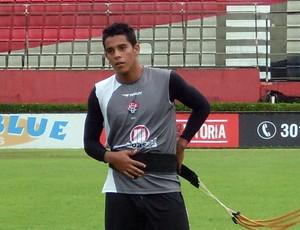 duylio, volante do Vitória (Foto: Eric Luis Carvalho/Globoesporte.com)